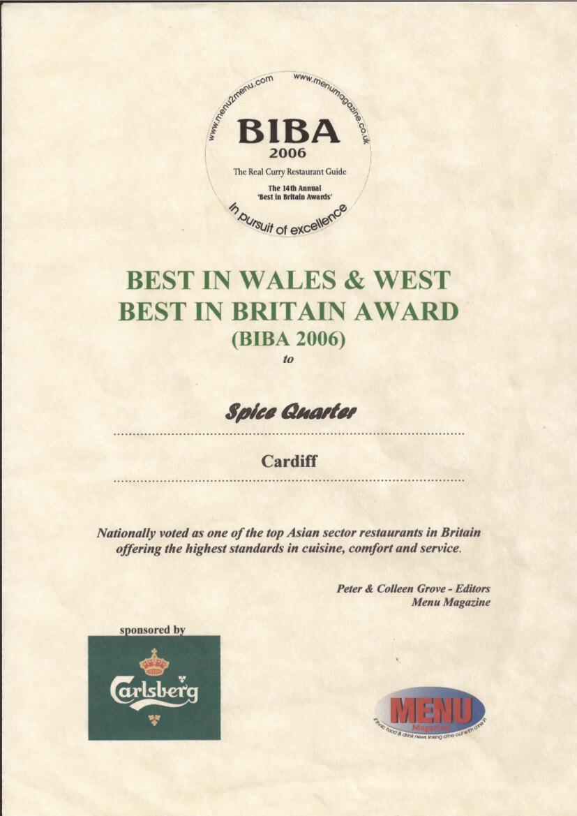 Biba Award